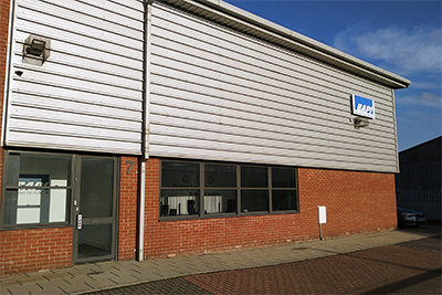 UK office and warehouse